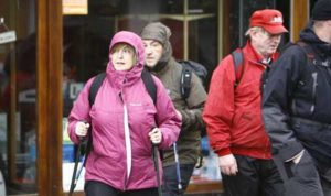 Mary McAleese on the Camino de Santiago