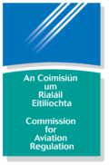 Commission for Aviation Regulation in Ireland Logo