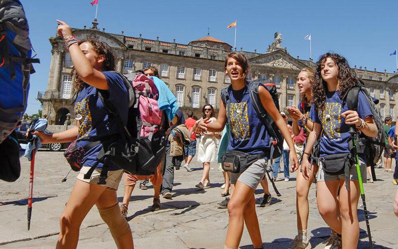 Educamino School Trip arrived in Santiago - Excitement