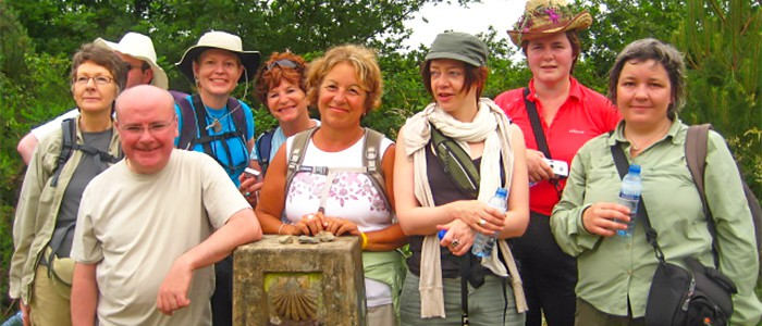 friends on the camino