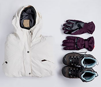 winter clothes for the camino