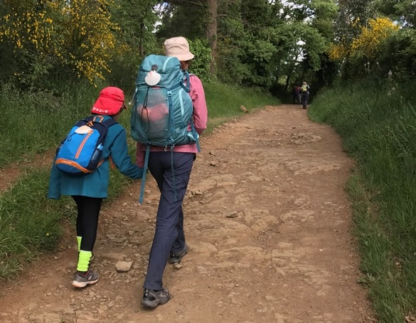 Camino mother and son