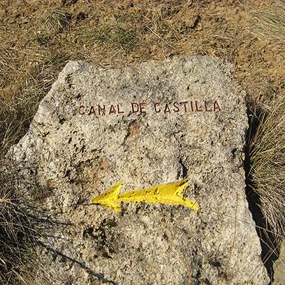 yellow arrow camino