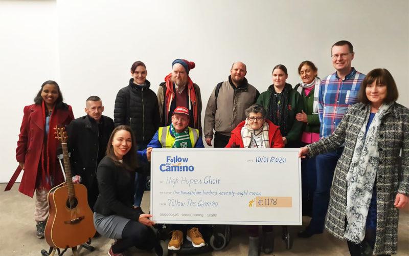 Camino events check to High Hopes Choir