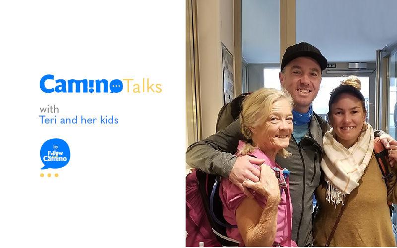 Camino Talks Teri and kids