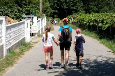 Walking with kids on the portuguese camino
