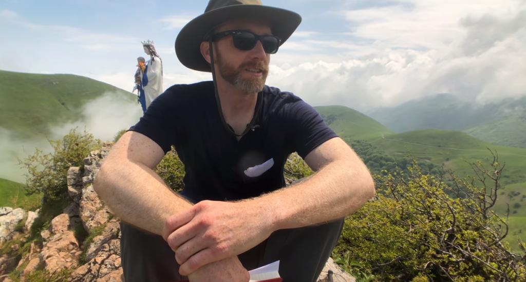 Jeremy on the Camino