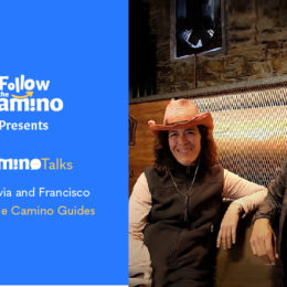 Camino talks with silvia and fran tour guides