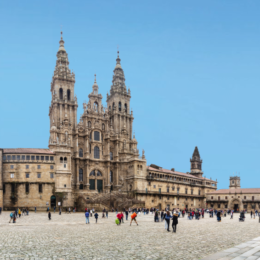 cathedral santiago at the end of the camino