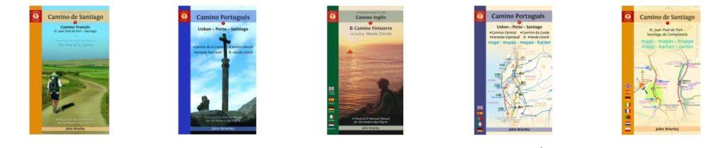 John Brierley's books about the Camino de Santiago pilgrimage