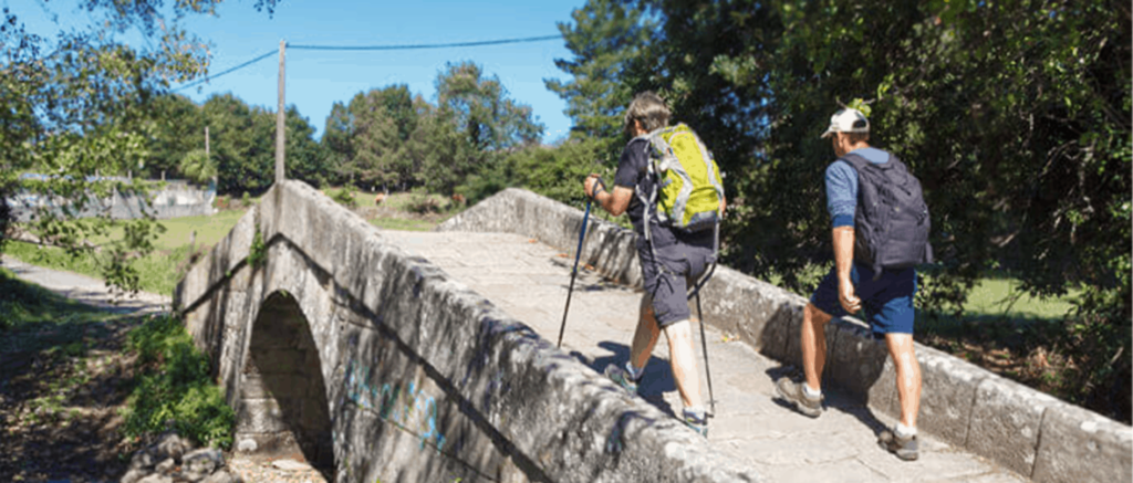 siblings on the camino