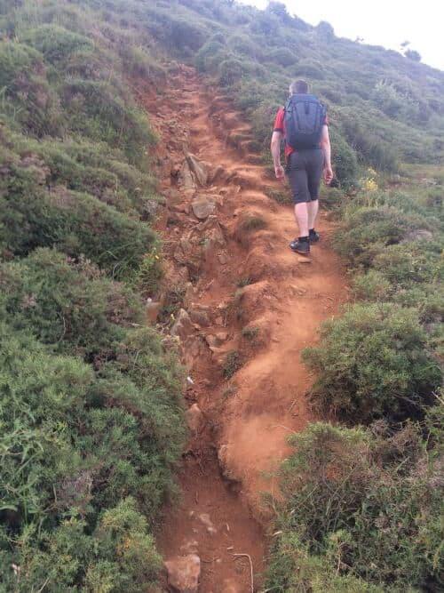 punta del brusco noja camino del norte camino proposal