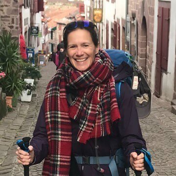 Kelly, one of the founders of Camino for Good on the Camino