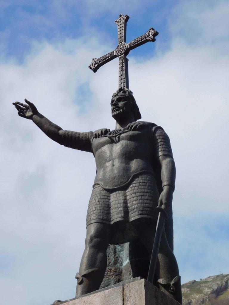 bishop pelayo statue northern way