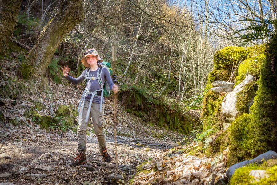 children of any age can walk the Camino