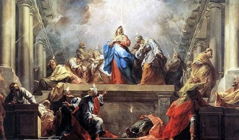 pentecost religious day religion apostles