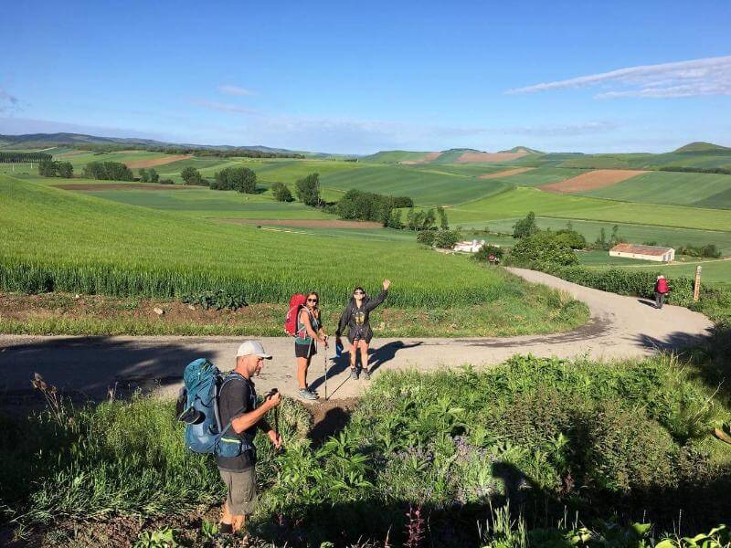 pilgrims on the life-changing camino