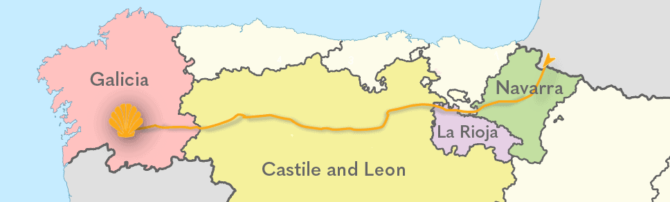food regions of the Camino Frances