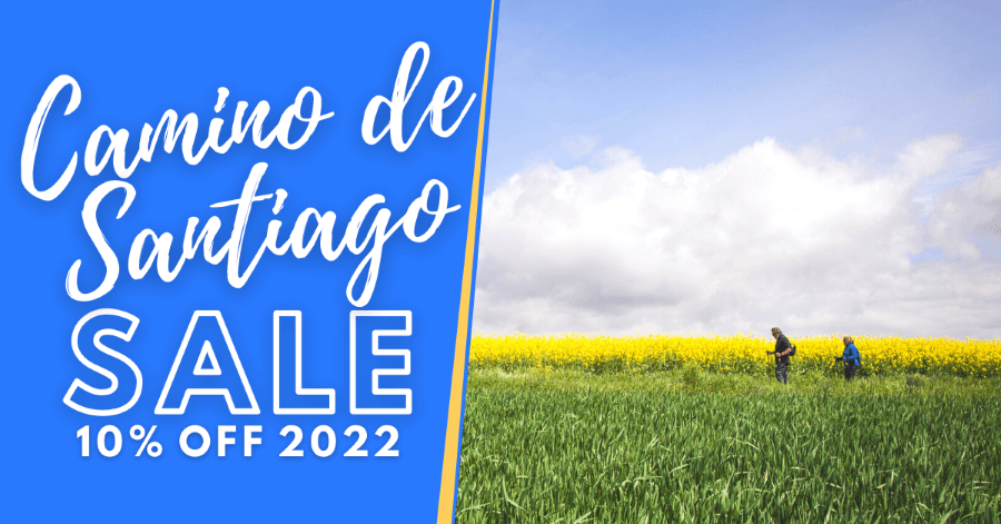 10% off all Camino packages booked before the end of 2021!