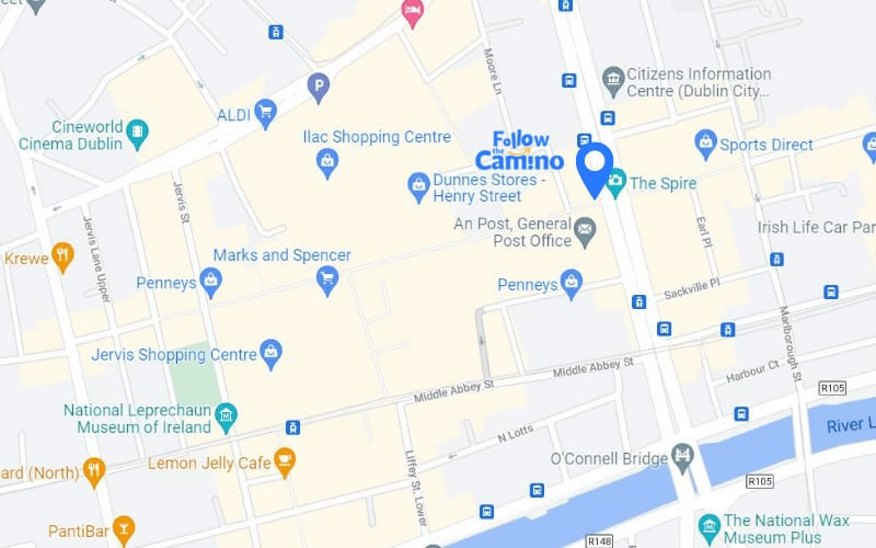 ftc office location map o connell street dublin